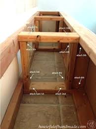outdoor storage bench plans built in bench with storage bench storage outdoor storage bench seat plans