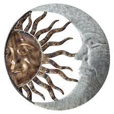 moon and sun wall hanging globe imports