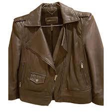 bcbg max azria biker jacket biker jackets leather black ref 47486