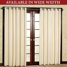 extra wide sheer curtains uk linen grommet