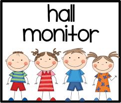 hallway monitor. hall monitor job clipart hallway