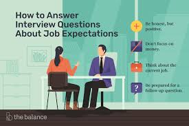 Questions About Employment How To Answer Interview Questions About Job Expectations