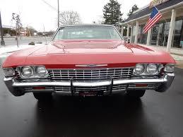 1968 Chevrolet Caprice Matador red match #'s 327 factory AC 79K ...