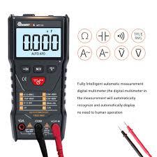 MUSTOOL MT110 Auto Measure <b>Multimeter True RMS</b> Digital <b>6000</b> ...