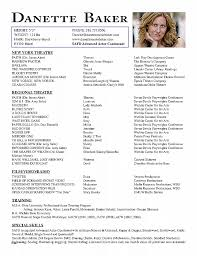 Resume Awesome Acting Resume Template Download Acting Resume