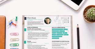 Elon Musk Resume The Résumé Of Elon Musk By Novorésumé 35