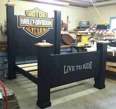 harley davidson bed furniture The Idea Harley Davidson