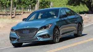 2018 genesis car. plain 2018 the 2018 genesis g80 sport is a sedan in need of some air quotes   drive on genesis car