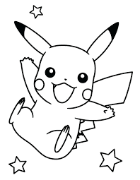 pokemon pikachu coloring pages coloring pages