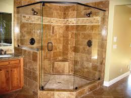 Shower Shower Wonderful Corner Showers For Small Bathrooms
