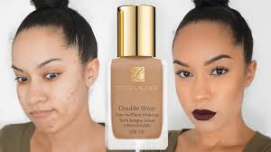 estee lauder makeup reviews double wearfirst impression review estee lauder double wear foundation