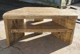 rustic corner tv stand in wood awesome homes easy handmade decorations 9