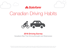 infographic state farm surveyed canadians about cyclist safety on busy streets here s what they said