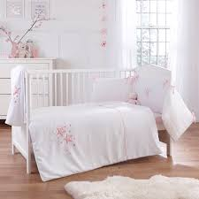 clair de lune stardust 3 piece cot cot bed bedding bale pink