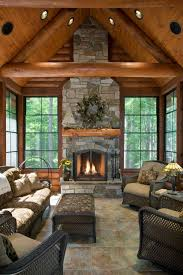 interior and exterior images of tomahawk log homes