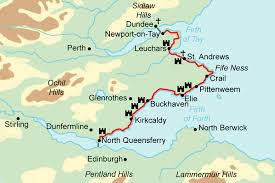 Fife Coastal Path Distance Chart March 2012 Britisharmysgtmonkey