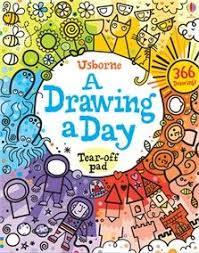 art book a drawing a day this tear off activity pad to inspire year round creativity with a new drawing idea for every day of the year