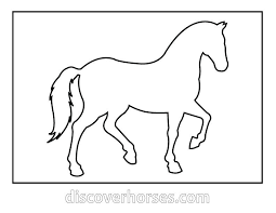 template horse horse template can make magnets necklaces etc or just use as