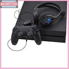 Tai Nghe Chơi Game Có Dây E Kèm Mic Cho Sony Ps3 Ps4 - Tai nghe Bluetooth  chụp tai Over-ear