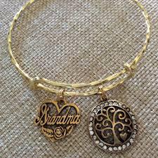 Grandma Filigree Tree of Life Twisted Gold Expandable Charm ...