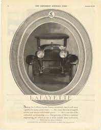 1921 1 29 lafayette lafayette motors pany at mars hill indianapolis indiana the saay evening post january 29 1921 page 52