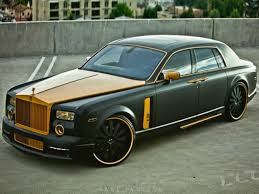 Rolls Gold Custom Phantom My Hell Of A Life