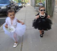 this year s costumes marilyn monroe and audrey hepburn minis