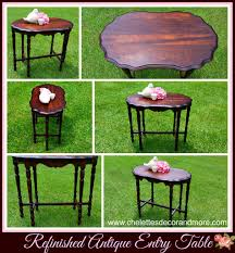 vintage entry table. Vintage Entry Table A