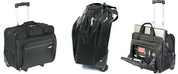 wheeled laptop bag best rolling briefcase with shoulder strap top bags