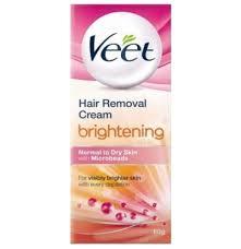 veet hair removal cream brightening normal to dry skin
