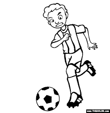 Small Picture Sports Online Coloring Pages Page 1