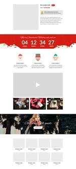 sale page template 5 best christmas landing page templates for shopify