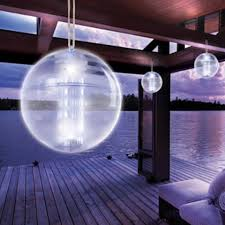 Home Collection Outdoor Led Solar Orb Light Patio Pool Lake