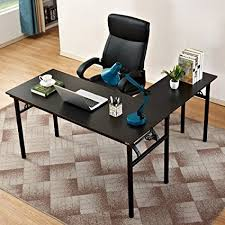 l shaped home office desks. Need 55\u0026quot; X L-shaped Folding Computer Desk, One-Step L Shaped Home Office Desks
