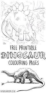 Dinosaur Colouring Pages Science For Kids Dinosaur Coloring