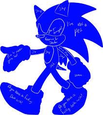 Sonic Character Petting Chart Sonic The Hedgehog Amino