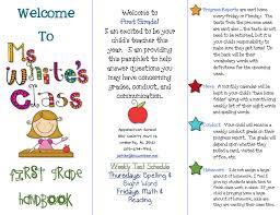 Teacher Brochure Example Parent Teacher Brochure Example Www Imagessure Com