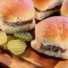 almost white castle hamburgers