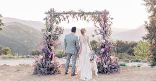 Wedding Altar Ideas Incredible Structures For Your Ceremony Sorry Diy The Thesorrygirls Decor Drapes Wood Photobooth Photoshoot Summer Flower Girls Arbor Arch