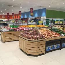 Fruit And Vegetable Stands And Displays Inspiration China Wooden Supermarket Fruit And Vegetable Display Stand China