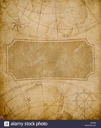 Old Map Cover Template Or Background Stock Photo 87617919