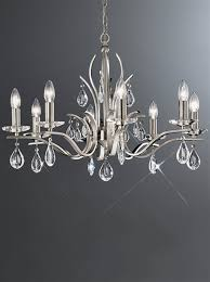 franklite fl2299 8 willow 8 light bronze and crystal chandelier