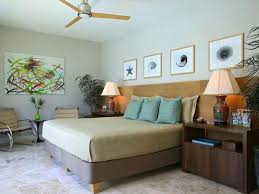 Bedroom : Beach Theme Master Bedroom S4x3 Lg Brown Bedding Set Two Armchair  Round Table Two