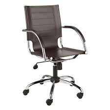 brown leather office chair. Dave Brown Leather Office Chair Chairs B