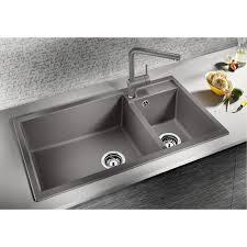 Kitchen Large Kitchen Sink Silgranit Sink Colors Blanco Sink