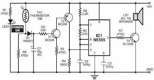 simple fire alarm with thermistor and ne555 circuit wiring diagrams Commercial Fire Alarm Wiring Diagrams simple fire alarm based ne555 commercial fire alarm wiring diagram