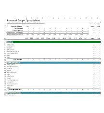Monthly Home Budget Template Monthly Household Budget Template