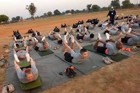 u s department of defense photo essay  u s oldiers stretch during yoga class at camp bundela oct 24