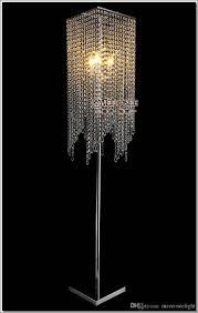 Großhandel Freies Verschiffen Moderne Populäre Kristall Stehlampe Chrom Boden Standplatzbeleuchtung Meerosee Standplatzbeleuchtung Fl10008 Von