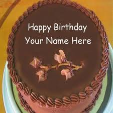 Happy Birthday Cake With Name Edit For Facebook